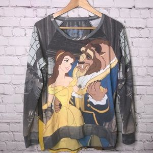 Beauty And The Beast Long Sleeve Top